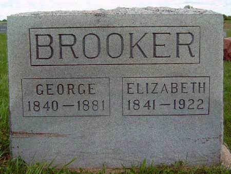 BROOKER, MARY ELIZABETH - Madison County, Iowa | MARY ELIZABETH BROOKER