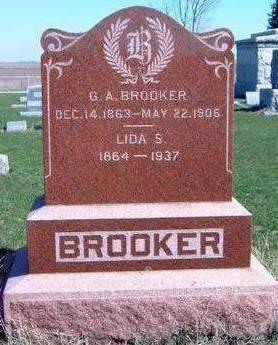 BROOKER, GEORGE ADELBERT - Madison County, Iowa | GEORGE ADELBERT BROOKER