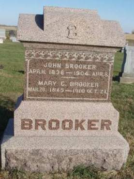 HUBBARD BROOKER, MARY C. - Madison County, Iowa | MARY C. HUBBARD BROOKER