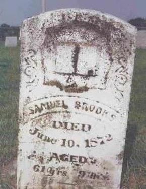 BROOKS, SAMUEL - Madison County, Iowa | SAMUEL BROOKS