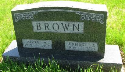 BROWN, ANNA M. - Madison County, Iowa | ANNA M. BROWN