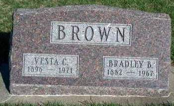 BROWN, VESTA C. - Madison County, Iowa | VESTA C. BROWN