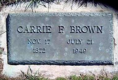 BROWN, CARRIE - Madison County, Iowa   CARRIE BROWN