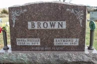 WHEELER BROWN, DONNA JUNE - Madison County, Iowa | DONNA JUNE WHEELER BROWN