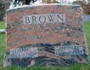 BROWN, THOMAS D. - Madison County, Iowa | THOMAS D. BROWN