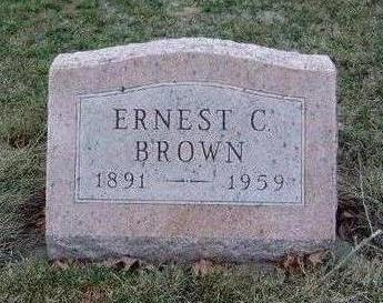 BROWN, ERNEST CHARLES - Madison County, Iowa | ERNEST CHARLES BROWN