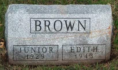 BROWN, EDITH - Madison County, Iowa | EDITH BROWN