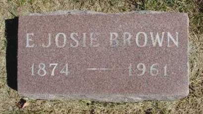BENSON BROWN, ELLA JOSIE - Madison County, Iowa | ELLA JOSIE BENSON BROWN