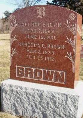 BROWN, GEORGE - Madison County, Iowa | GEORGE BROWN