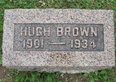 BROWN, HUGH MITCHEL - Madison County, Iowa | HUGH MITCHEL BROWN