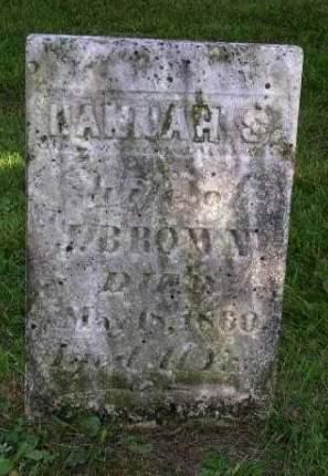 BROWN, HANNAH S. - Madison County, Iowa | HANNAH S. BROWN