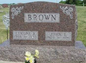 BROWN, LENORE ROSE - Madison County, Iowa | LENORE ROSE BROWN