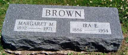 BROWN, MARGARET M - Madison County, Iowa | MARGARET M BROWN