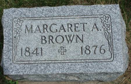 BROWN, MARGARET A. - Madison County, Iowa | MARGARET A. BROWN