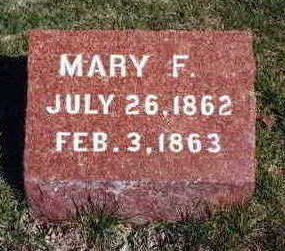 BROWN, MARY F. - Madison County, Iowa | MARY F. BROWN
