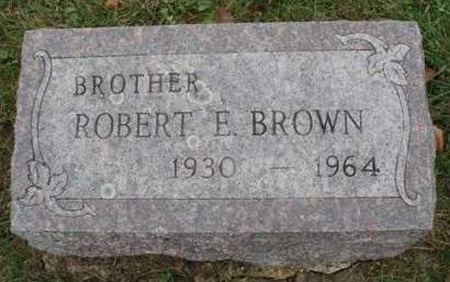 BROWN, ROBERT E. - Madison County, Iowa | ROBERT E. BROWN