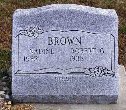 BROWN, ROBERT G. - Madison County, Iowa | ROBERT G. BROWN