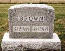 BROWN, ROBERT J. - Madison County, Iowa | ROBERT J. BROWN