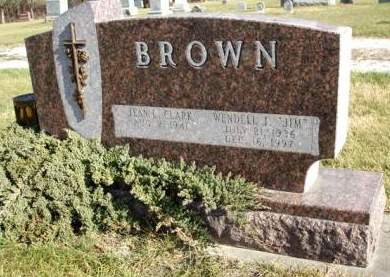 CLARK BROWN, JEAN L. - Madison County, Iowa | JEAN L. CLARK BROWN