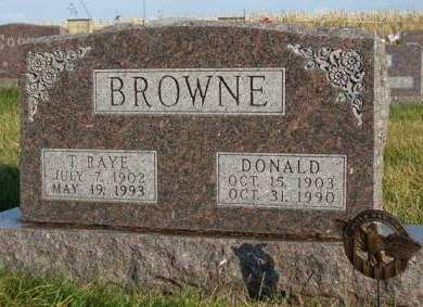 BROWNE, DONALD - Madison County, Iowa | DONALD BROWNE