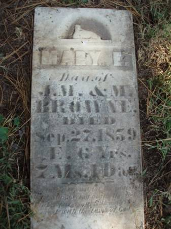 BROWNE, MARY E. - Madison County, Iowa | MARY E. BROWNE