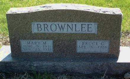 BROWNLEE, MARY MARGARET - Madison County, Iowa | MARY MARGARET BROWNLEE