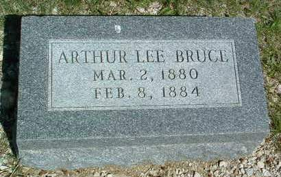 BRUCE, ARTHUR LEE - Madison County, Iowa | ARTHUR LEE BRUCE