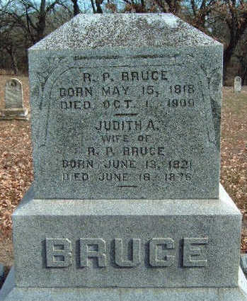 BRUCE, RICHARD P. - Madison County, Iowa | RICHARD P. BRUCE