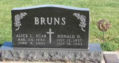 BRUNS, DONALD D. - Madison County, Iowa | DONALD D. BRUNS