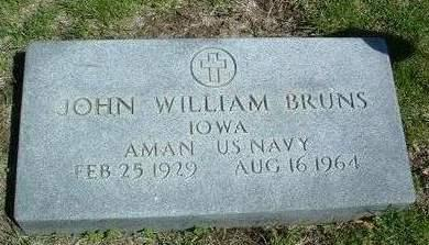 BRUNS, JOHN WILLIAM - Madison County, Iowa | JOHN WILLIAM BRUNS