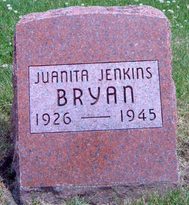 BRYAN, JUANITA - Madison County, Iowa | JUANITA BRYAN