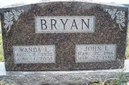 WAGLEY BRYAN, WANDA LOUISE - Madison County, Iowa | WANDA LOUISE WAGLEY BRYAN