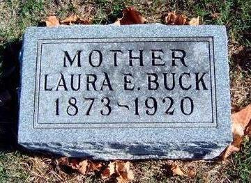 BUCK, LAURA ELNORA - Madison County, Iowa | LAURA ELNORA BUCK