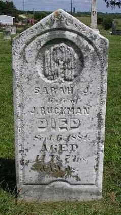 RUCKMAN, SARAH J. - Madison County, Iowa | SARAH J. RUCKMAN