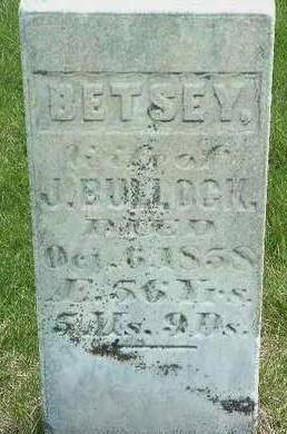 GASTON BULLOCK, ELIZABETH (BETSEY) - Madison County, Iowa | ELIZABETH (BETSEY) GASTON BULLOCK