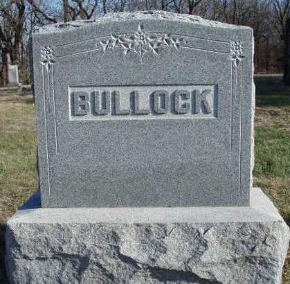 BULLOCK, FAMILY STONE - Madison County, Iowa | FAMILY STONE BULLOCK