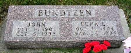 BUNDTZEN, EDNA E. - Madison County, Iowa | EDNA E. BUNDTZEN