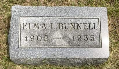 BUNNELL, ELMA L - Madison County, Iowa | ELMA L BUNNELL