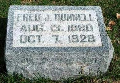 BUNNELL, FRED JACKSON - Madison County, Iowa | FRED JACKSON BUNNELL
