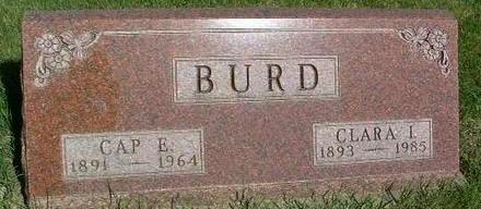 BURD, CAP E. - Madison County, Iowa | CAP E. BURD