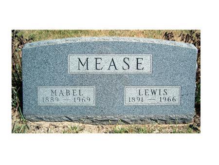 BURD MEASE, MABEL - Madison County, Iowa   MABEL BURD MEASE