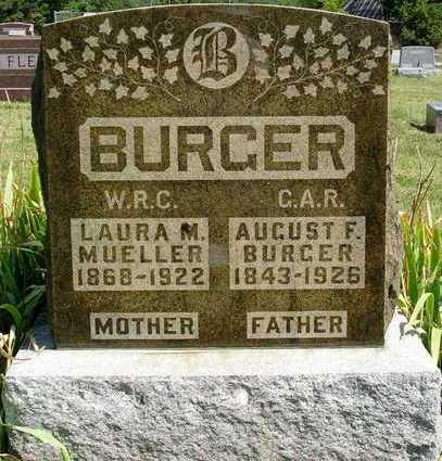MUELLER BURGER, LAURA MAY - Madison County, Iowa | LAURA MAY MUELLER BURGER