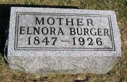 BURGER, ELNORA - Madison County, Iowa | ELNORA BURGER