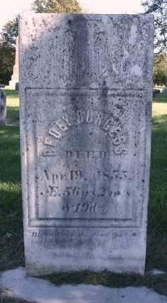 BURGESS, OBEDIAH (BEDEY) - Madison County, Iowa | OBEDIAH (BEDEY) BURGESS