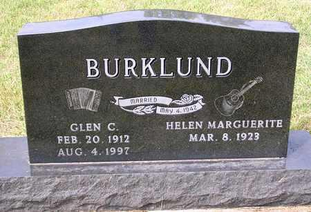 BURKLUND, GLEN C. - Madison County, Iowa | GLEN C. BURKLUND