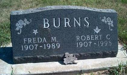 BURNS, FREDA MABEL - Madison County, Iowa | FREDA MABEL BURNS