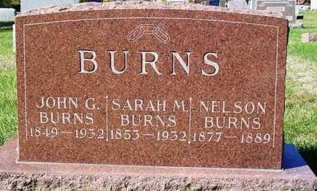 BURNS, SARAH MATILDA - Madison County, Iowa | SARAH MATILDA BURNS