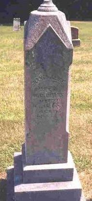 SILLIMAN  BURNS, NANCY ALICE - Madison County, Iowa | NANCY ALICE SILLIMAN  BURNS