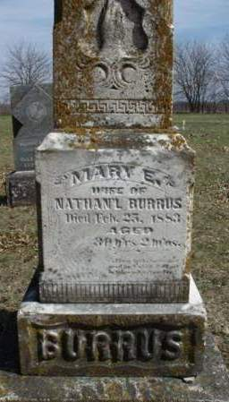 BURRUS, MARY E. - Madison County, Iowa | MARY E. BURRUS