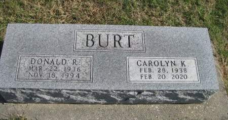 BURT, CAROLYN K. - Madison County, Iowa | CAROLYN K. BURT
